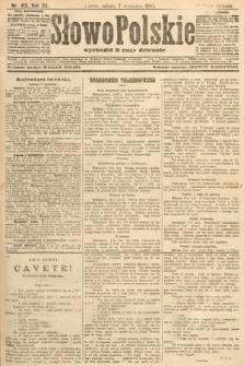 Słowo Polskie (wydanie poranne). 1907, nr415