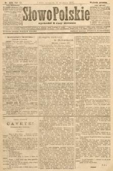 Słowo Polskie (wydanie poranne). 1907, nr423