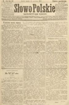 Słowo Polskie (wydanie popołudniowe). 1907, nr426