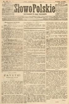 Słowo Polskie (wydanie poranne). 1907, nr429