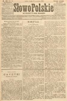 Słowo Polskie (wydanie poranne). 1907, nr433