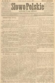 Słowo Polskie (wydanie popołudniowe). 1907, nr434
