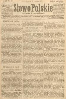 Słowo Polskie (wydanie popołudniowe). 1907, nr436