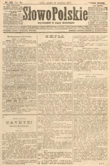 Słowo Polskie (wydanie poranne). 1907, nr439