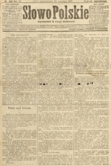 Słowo Polskie (wydanie popołudniowe). 1907, nr442