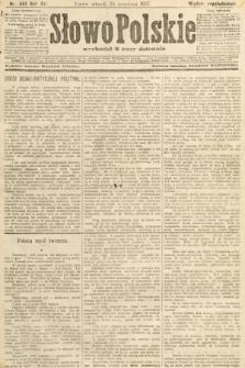 Słowo Polskie (wydanie popołudniowe). 1907, nr444