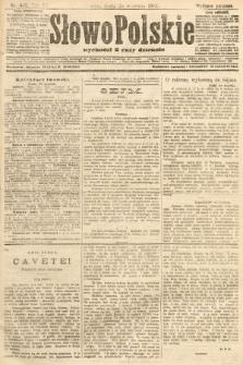 Słowo Polskie (wydanie poranne). 1907, nr445
