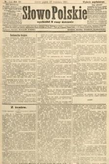 Słowo Polskie (wydanie popołudniowe). 1907, nr450