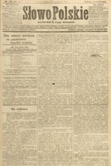 Słowo Polskie (wydanie popołudniowe). 1907, nr452