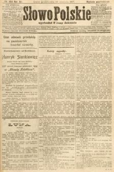 Słowo Polskie (wydanie popołudniowe). 1907, nr454