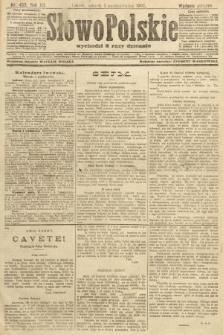 Słowo Polskie (wydanie poranne). 1907, nr455
