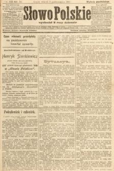 Słowo Polskie (wydanie popołudniowe). 1907, nr456