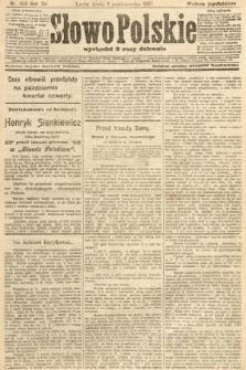 Słowo Polskie (wydanie popołudniowe). 1907, nr458