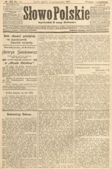 Słowo Polskie (wydanie popołudniowe). 1907, nr462