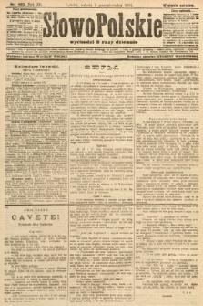 Słowo Polskie (wydanie poranne). 1907, nr463