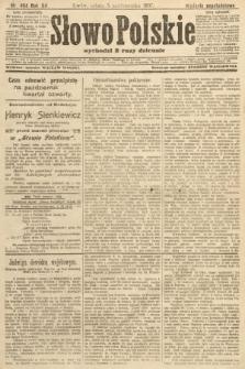 Słowo Polskie (wydanie popołudniowe). 1907, nr464