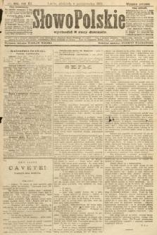 Słowo Polskie (wydanie poranne). 1907, nr465