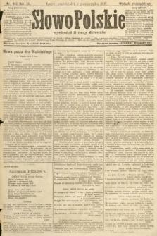 Słowo Polskie (wydanie popołudniowe). 1907, nr466