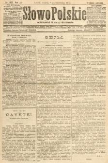 Słowo Polskie (wydanie poranne). 1907, nr467