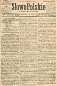 Słowo Polskie (wydanie popołudniowe). 1907, nr476