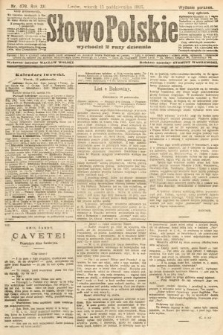 Słowo Polskie (wydanie poranne). 1907, nr479