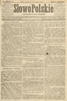 Słowo Polskie (wydanie popołudniowe). 1907, nr480