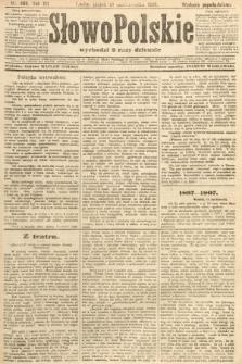 Słowo Polskie (wydanie popołudniowe). 1907, nr486