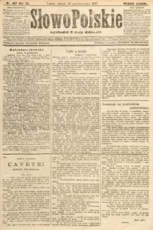 Słowo Polskie (wydanie poranne). 1907, nr487