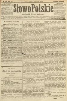 Słowo Polskie (wydanie poranne). 1907, nr516