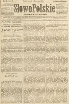 Słowo Polskie (wydanie popołudniowe). 1907, nr521
