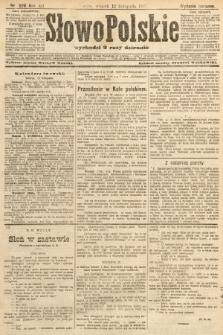 Słowo Polskie (wydanie poranne). 1907, nr526