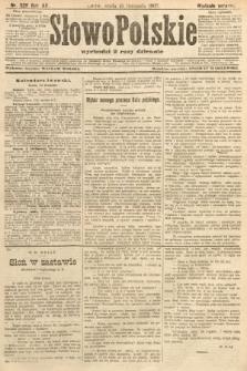 Słowo Polskie (wydanie poranne). 1907, nr528