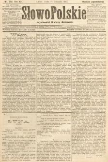 Słowo Polskie (wydanie popołudniowe). 1907, nr529