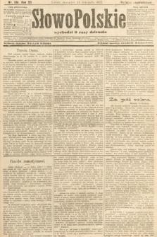 Słowo Polskie (wydanie popołudniowe). 1907, nr531