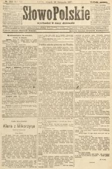 Słowo Polskie (wydanie poranne). 1907, nr550