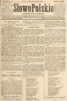 Słowo Polskie (wydanie poranne). 1907, nr552