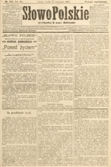 Słowo Polskie (wydanie popołudniowe). 1907, nr553