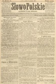 Słowo Polskie (wydanie poranne). 1907, nr570