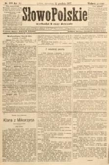Słowo Polskie (wydanie poranne). 1907, nr578