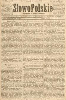 Słowo Polskie (wydanie popołudniowe). 1907, nr579
