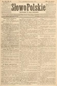 Słowo Polskie (wydanie poranne). 1907, nr590