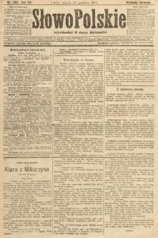 Słowo Polskie (wydanie poranne). 1907, nr592