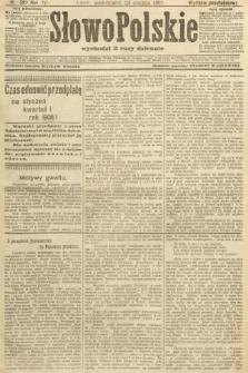Słowo Polskie (wydanie popołudniowe). 1907, nr597