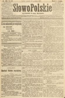Słowo Polskie (wydanie poranne). 1907, nr598