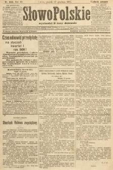 Słowo Polskie (wydanie poranne). 1907, nr600