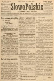 Słowo Polskie (wydanie poranne). 1907, nr602