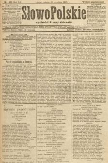 Słowo Polskie (wydanie popołudniowe). 1907, nr603