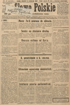 Słowo Polskie. 1929, nr21