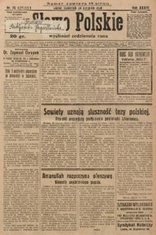 Słowo Polskie. 1929, nr23