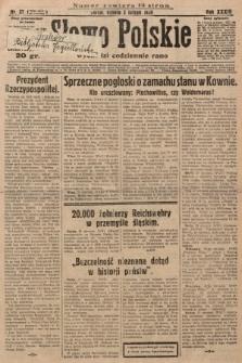 Słowo Polskie. 1929, nr32